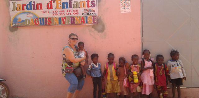 L'école maternelle de Gouana